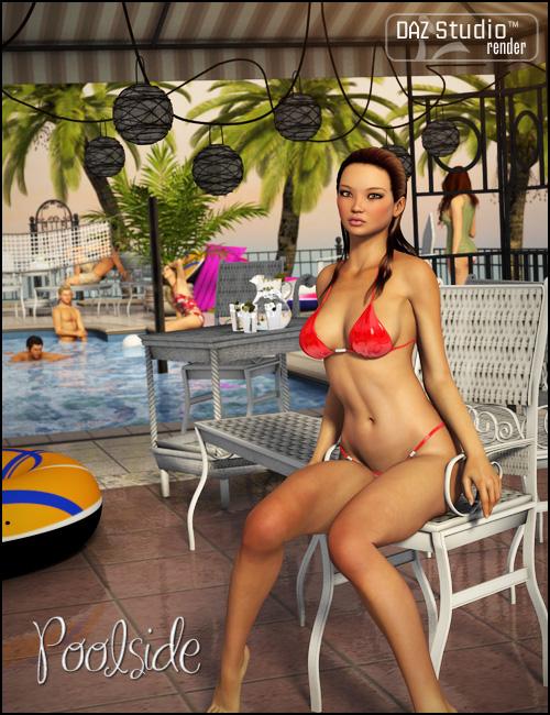 Poolside by: Propschick, 3D Models by Daz 3D