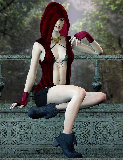 Nightshayde for Genesis by: Ryverthorn, 3D Models by Daz 3D