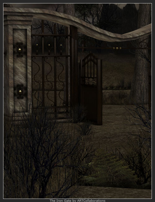 The Iron Gate by: ARTCollab, 3D Models by Daz 3D