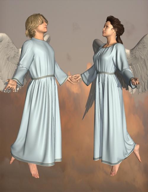 Angelic Dynamic Bundle for V4 and M4 by: KhoryOptiTex, 3D Models by Daz 3D