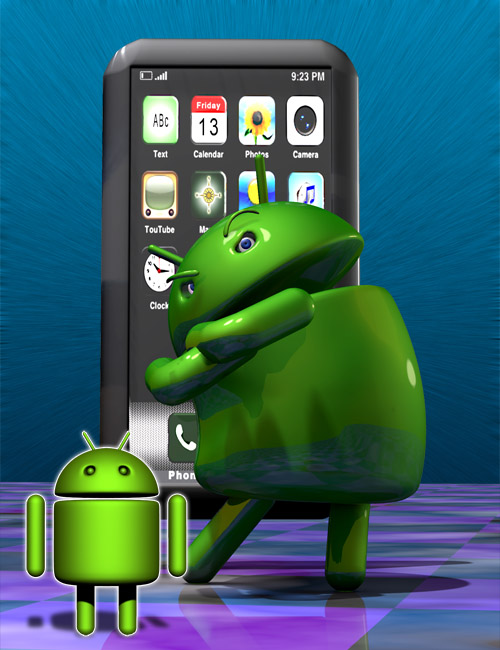 Android by: Gareee, 3D Models by Daz 3D