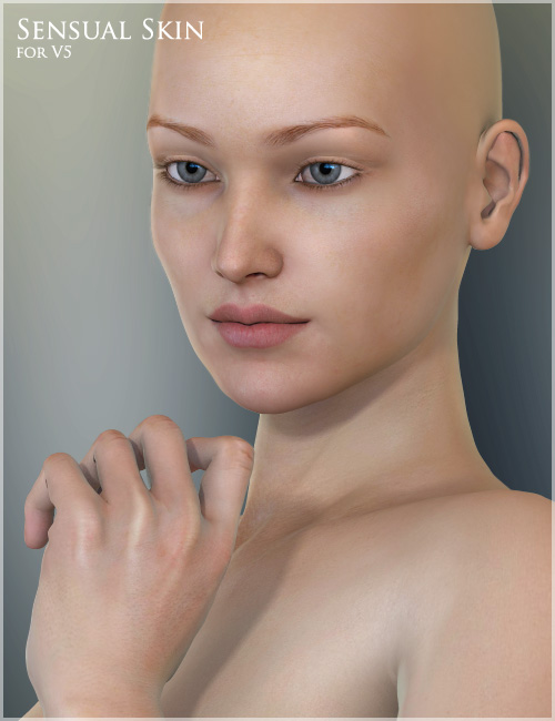 Sensual Skin Resource for V5 by: , 3D Models by Daz 3D
