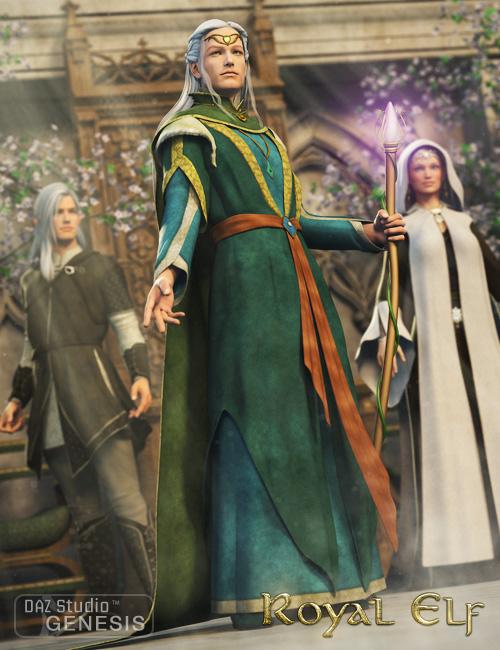 Royal Elf for Genesis by: Ravenhair, 3D Models by Daz 3D