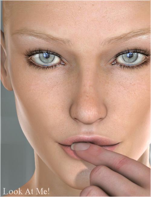 Look At Me Eyes by: Raiya, 3D Models by Daz 3D