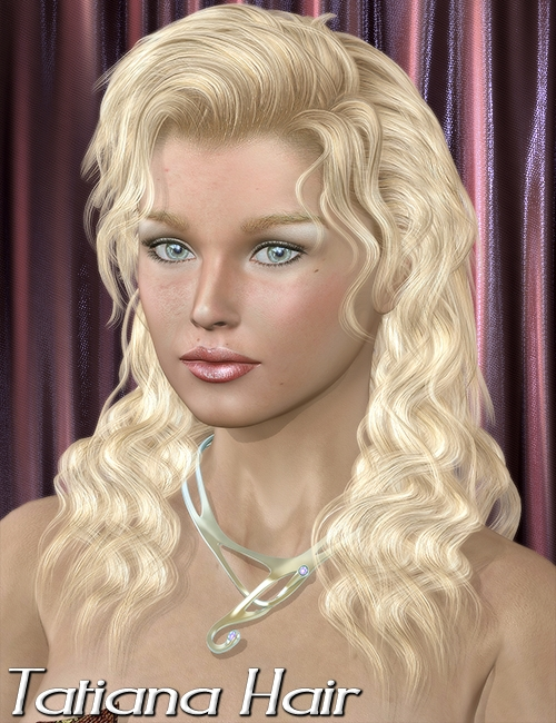 Tatiana Hair by: 3DreamMairy, 3D Models by Daz 3D
