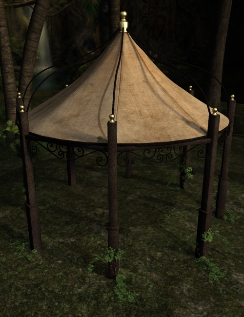 The Tent by: ARTCollab, 3D Models by Daz 3D