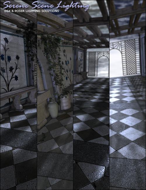 Serene Scene Lights Bundle by: ForbiddenWhispers, 3D Models by Daz 3D