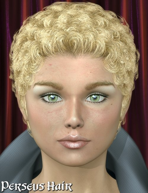 Perseus Hair by: 3DreamMairy, 3D Models by Daz 3D