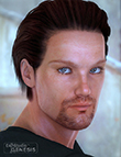 Pure Hair: Classic  for Genesis by: , 3D Models by Daz 3D
