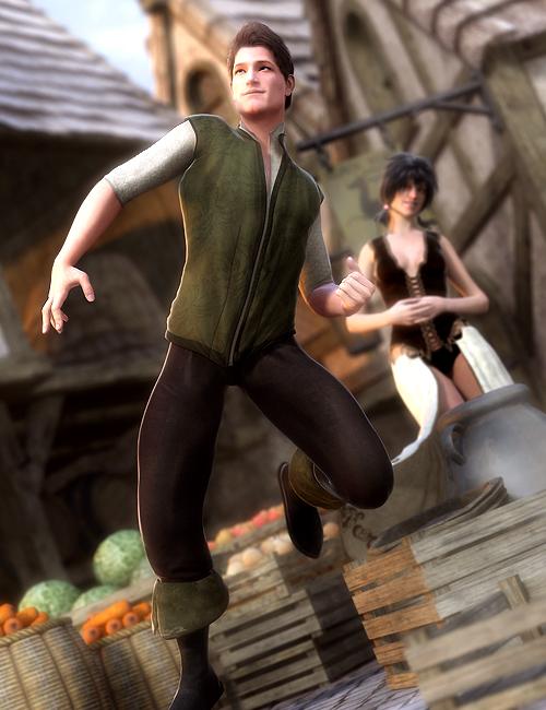 Fantasy Basic Wear for Genesis by: , 3D Models by Daz 3D