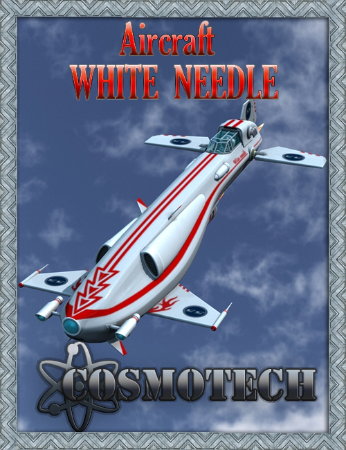 Aircraft Needle by: petipet, 3D Models by Daz 3D