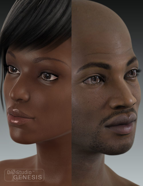 Ethnicity for Genesis: African by: , 3D Models by Daz 3D
