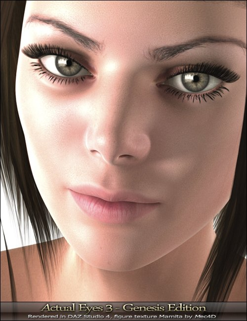 Actual Eyes 3 by: MindVision G.D.S., 3D Models by Daz 3D
