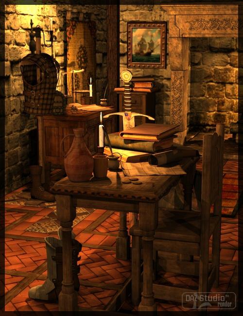 The Armoury by Merlin by: Merlin Studios, 3D Models by Daz 3D