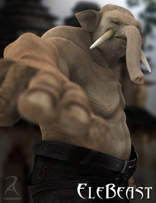 EleBeast by: RawArt, 3D Models by Daz 3D
