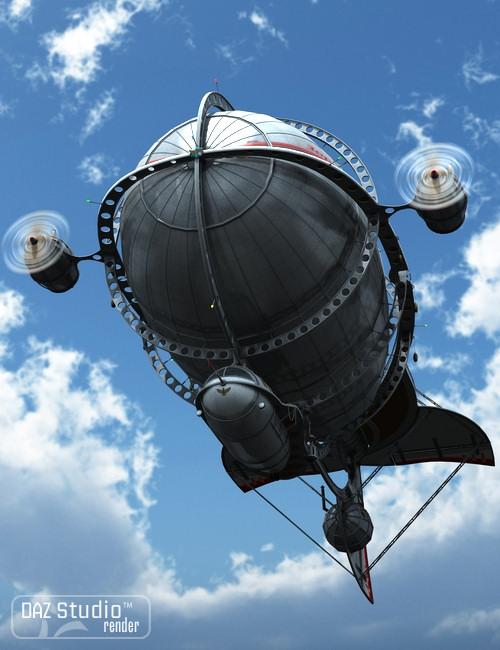 Zeppelin Star by: petipet, 3D Models by Daz 3D