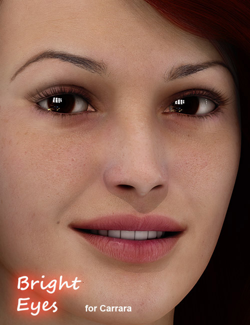 Bright Eyes for Carrara by: PhilW, 3D Models by Daz 3D