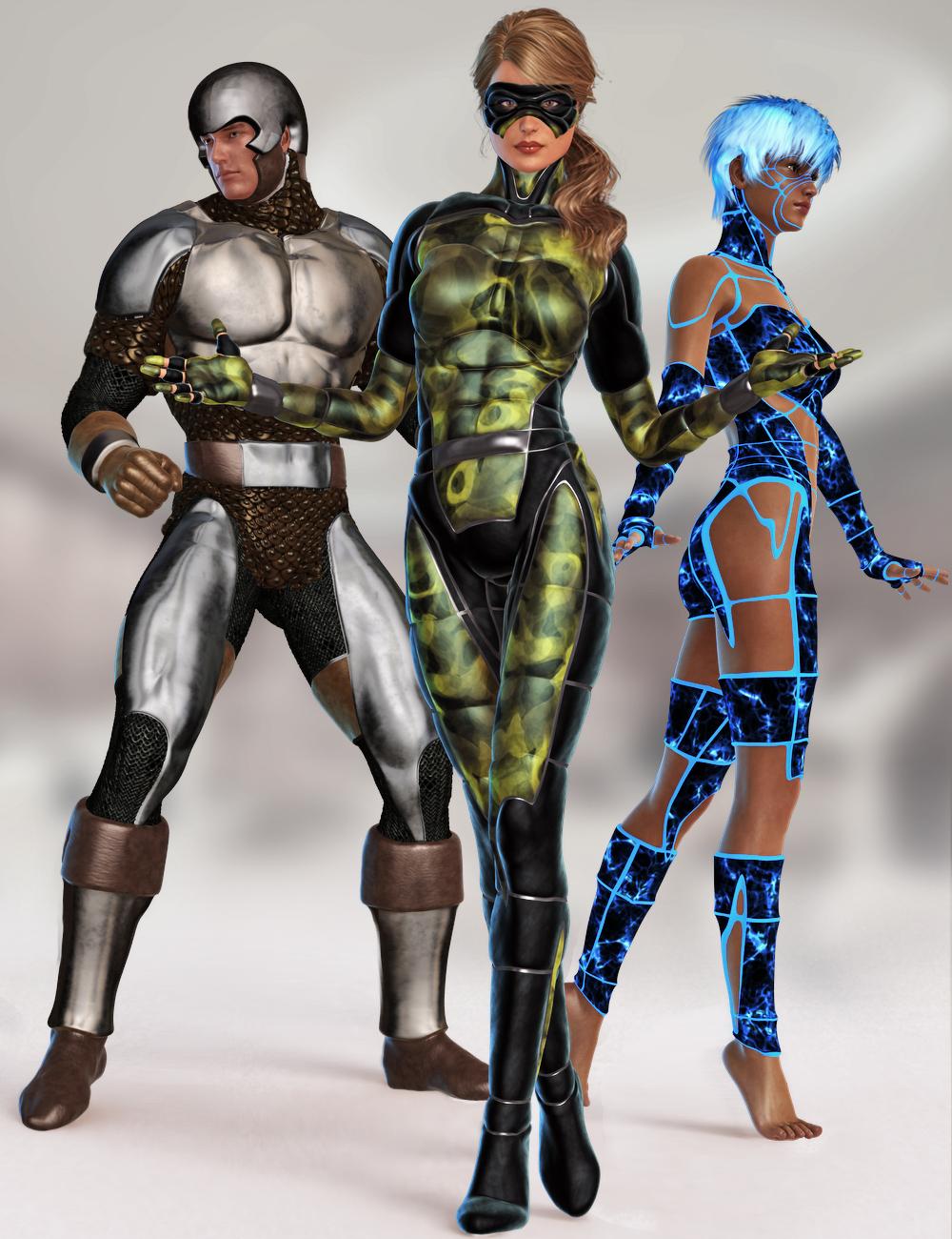 Genesis Supersuit by: , 3D Models by Daz 3D