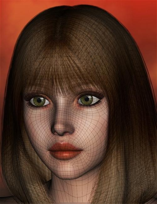 Genesis Head Morph Resource Kit 2 by: ThorneHandspan Studios, 3D Models by Daz 3D