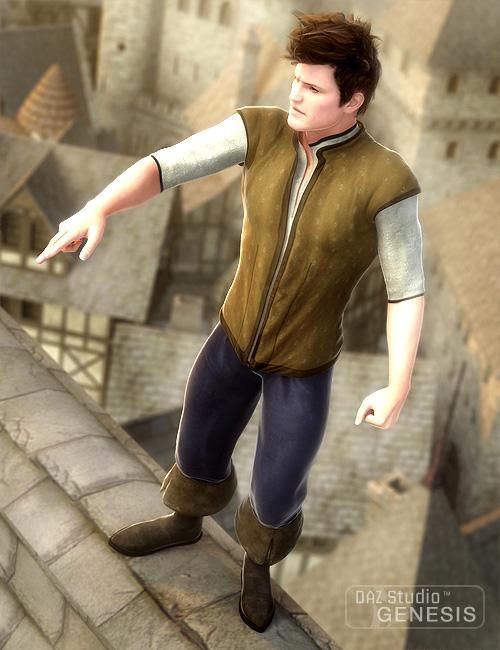 Fantasy Basic Wear Textures by: Sarsa, 3D Models by Daz 3D