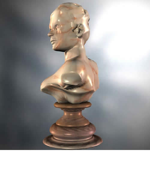 Antoinette Bust Set by: Neftis3D, 3D Models by Daz 3D
