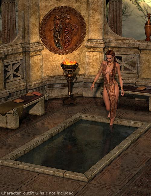 DMs Fantasy Bath by: Daniemarforno, 3D Models by Daz 3D