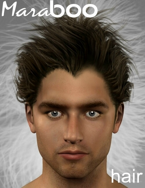 Maraboo Hair by: Neftis3D, 3D Models by Daz 3D