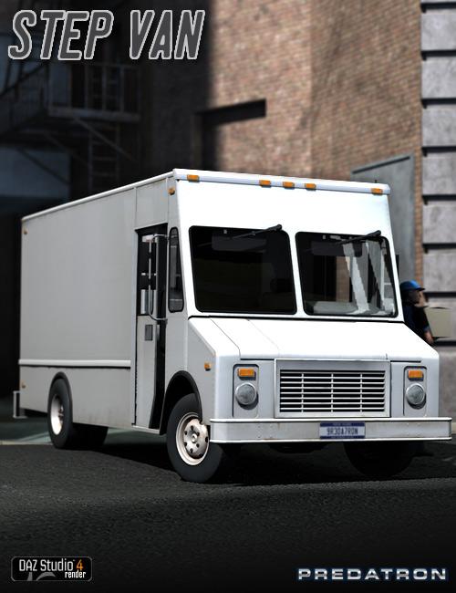 Step Van by: Predatron, 3D Models by Daz 3D