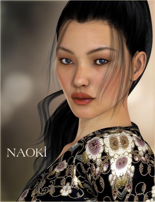 Naoki for V4 and V5 by: Raiya, 3D Models by Daz 3D