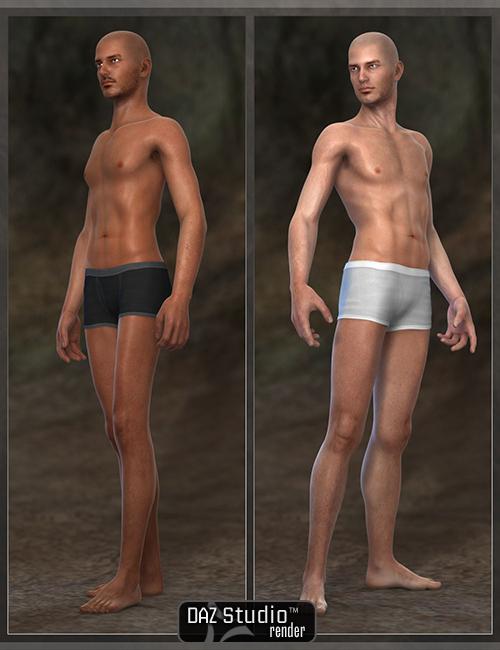 Manly Men M5 by: , 3D Models by Daz 3D