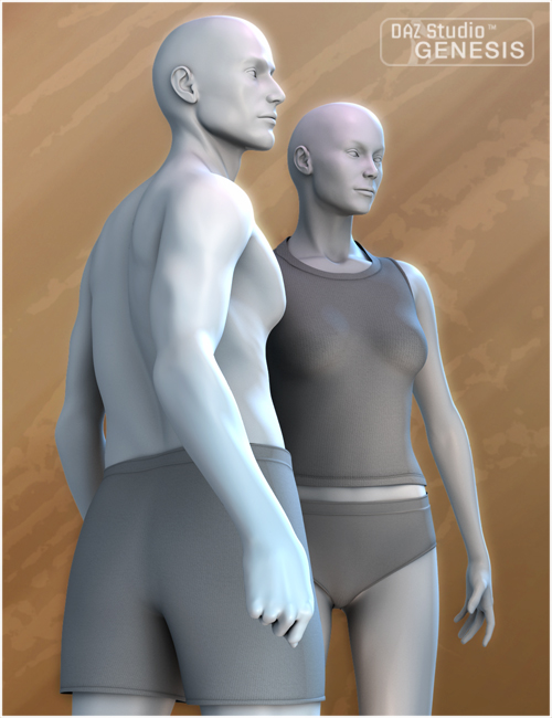 V3 and M3 Shapes for Genesis by: , 3D Models by Daz 3D