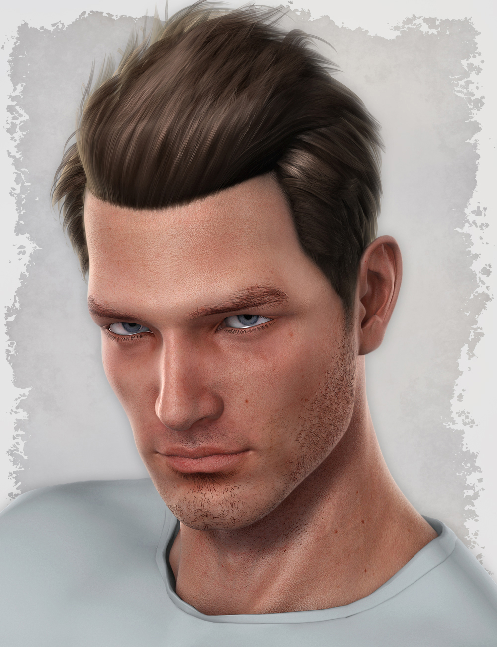 Michael 5 Elite Hair by: , 3D Models by Daz 3D