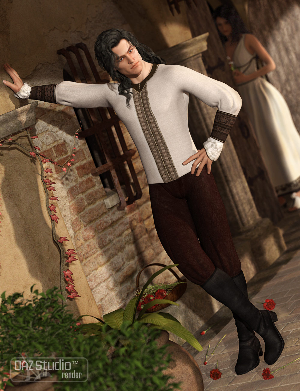 Wicked Wear Seville Textures by: Sarsa, 3D Models by Daz 3D
