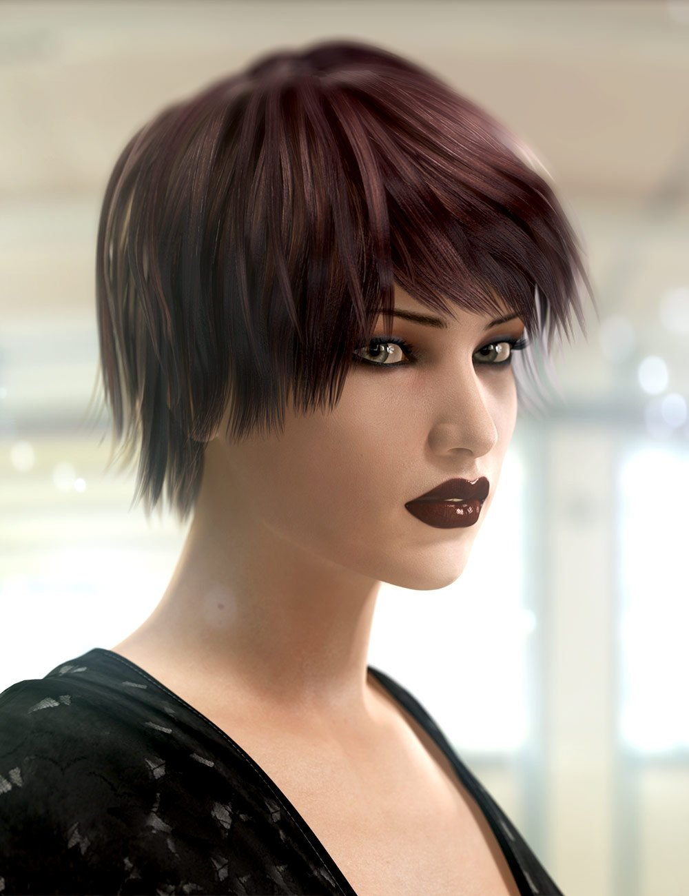 Taylor Hair by: SWAM, 3D Models by Daz 3D