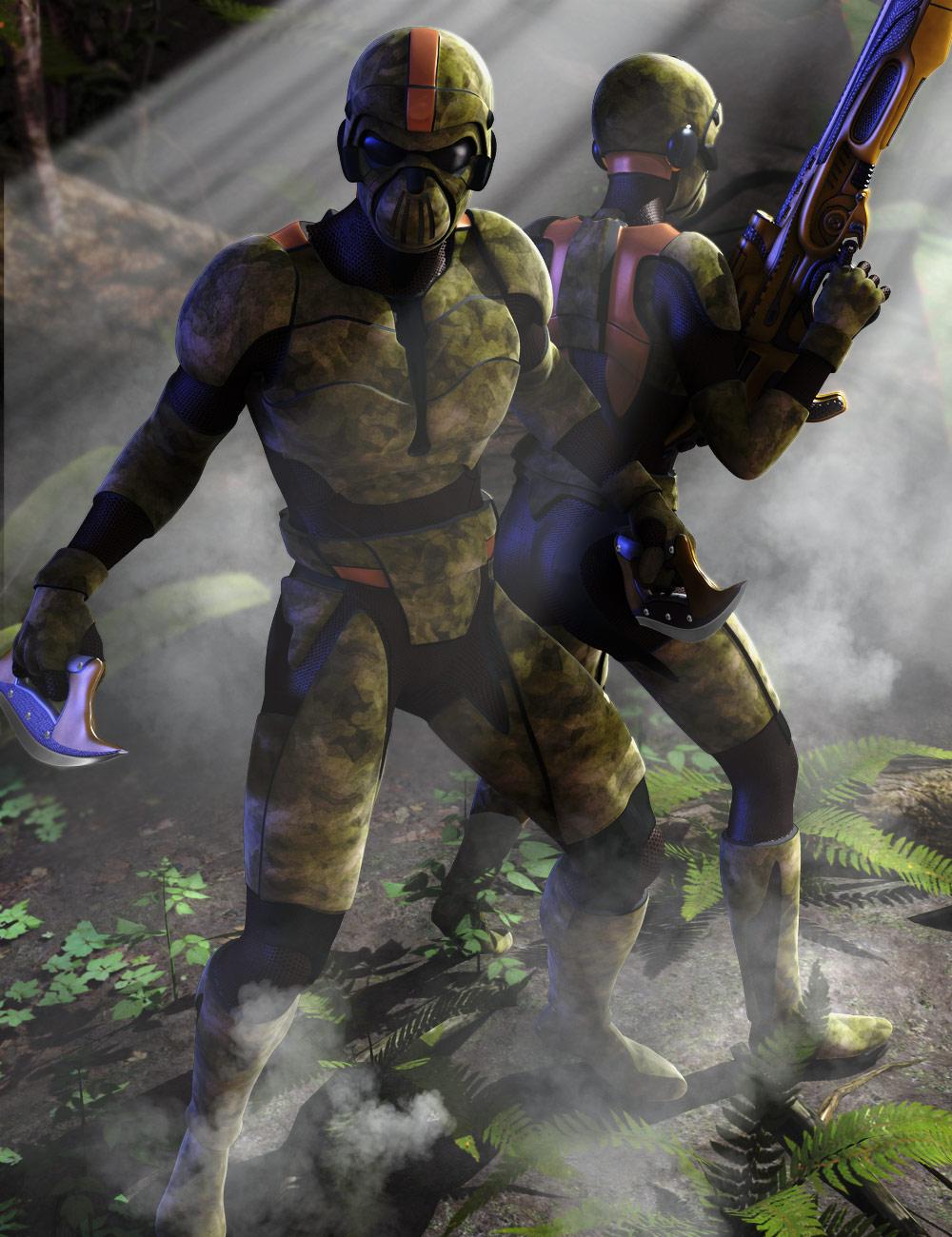 Supersuit Troopers by: , 3D Models by Daz 3D