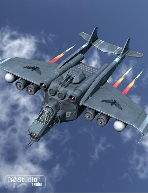 Aircraft Condor by: petipet, 3D Models by Daz 3D