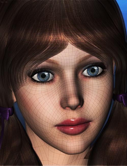 Genesis Head Morph Resource Kit 3 by: ThorneHandspan Studios, 3D Models by Daz 3D