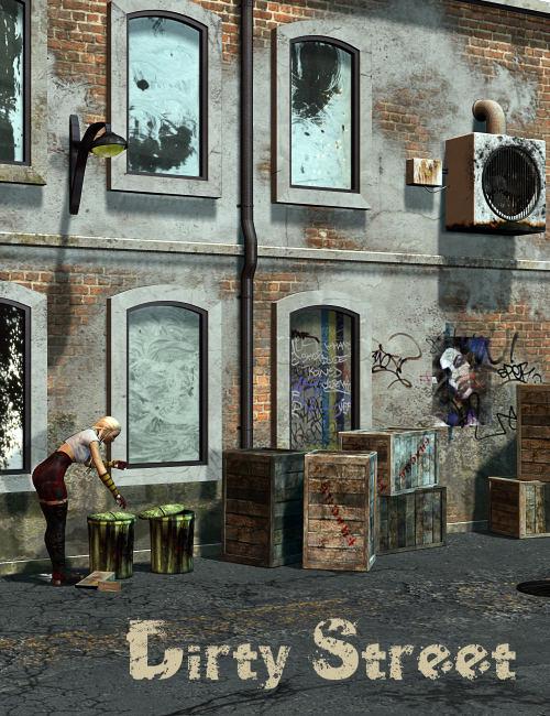 Dirty Street by: Nathy, 3D Models by Daz 3D