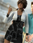 Classy Casual Outfit For Genesis by: Barbara BrundonSarsa, 3D Models by Daz 3D