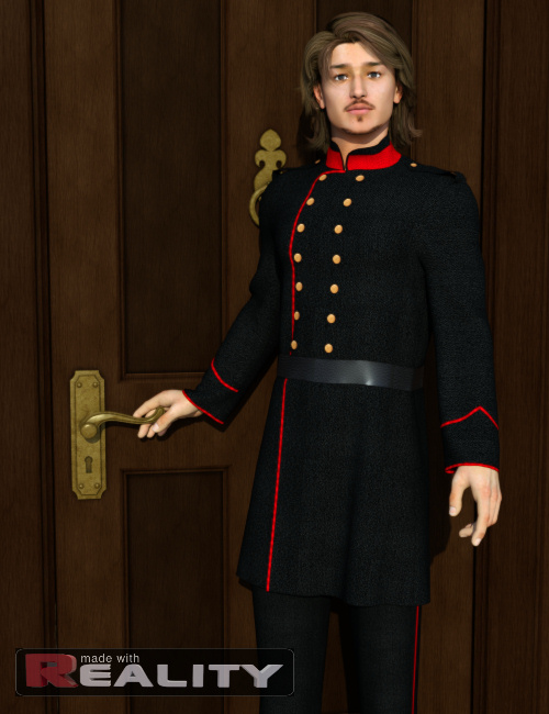 Dynamic Uniforms for Michael 4 by: KhoryOptiTex, 3D Models by Daz 3D