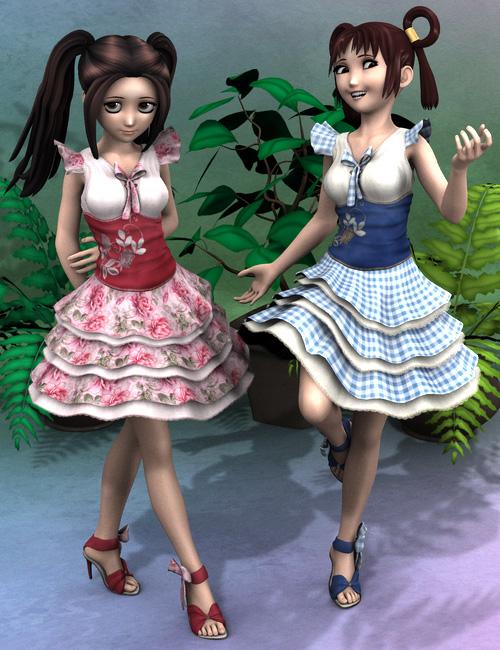 Eclair Deux by: esha, 3D Models by Daz 3D