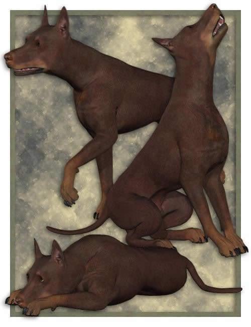 Millennium Dog LE by: , 3D Models by Daz 3D
