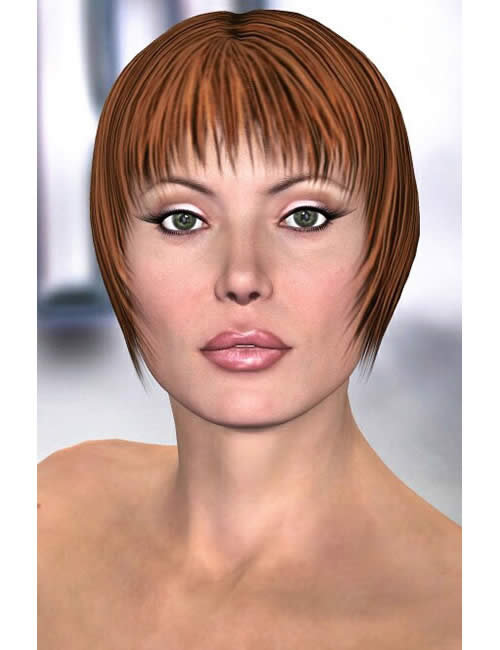 Razored Moffitt: A V3 Fashion Hairstyle by: , 3D Models by Daz 3D