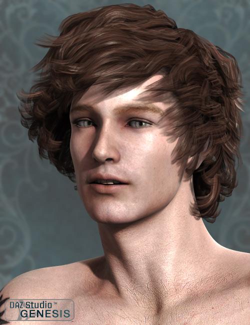 Jordan Hair by: AprilYSH, 3D Models by Daz 3D