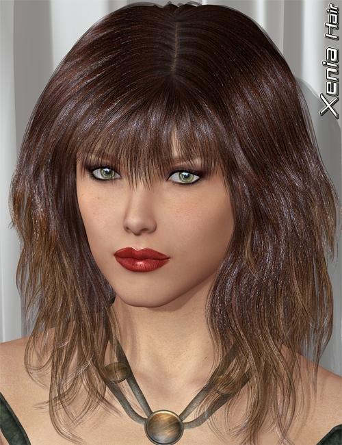 Xenia Hair by: 3DreamMairy, 3D Models by Daz 3D