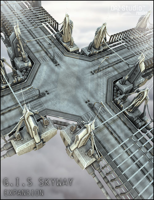 GIS Skyway Expansion by: Jack Tomalin, 3D Models by Daz 3D