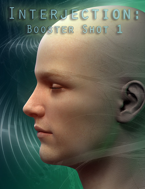 Interjection  Booster Shot One by: DimensionTheory, 3D Models by Daz 3D