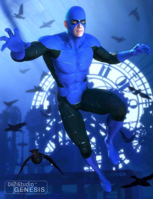 Supersuit Hero Pack by: , 3D Models by Daz 3D