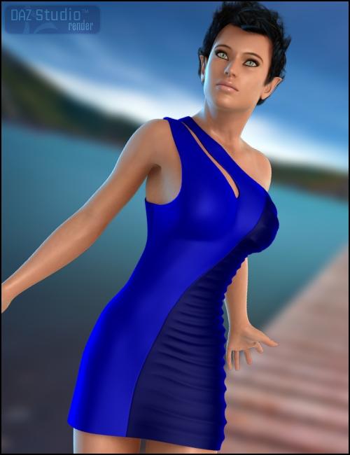 Wicked Nightclub Dress by: Xena, 3D Models by Daz 3D