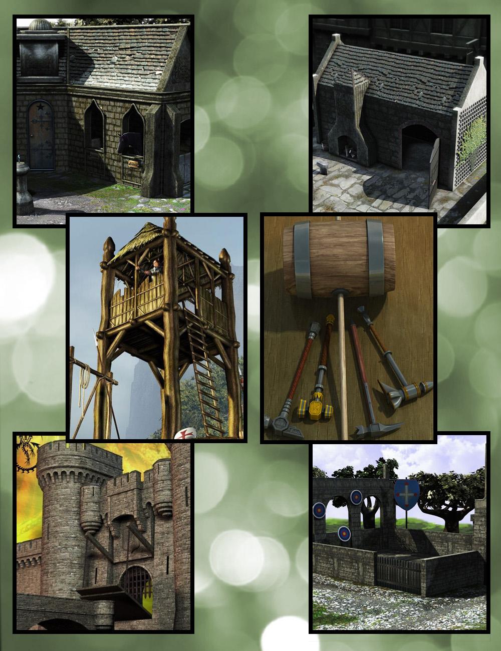 Supersuit Fantasy Content Bundle by: , 3D Models by Daz 3D